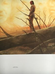 "Lee Teter ""The Spirits Remain"" S/N Native American Print"