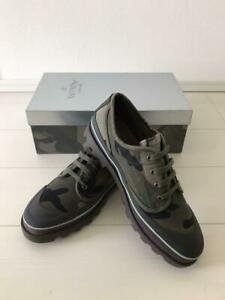 Auth Valentino Sneakers Camouflage Green Size EUR 42 Never Used w/Box from Japan