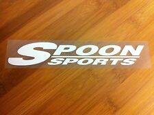 Spoon Sports JDM vinyl sticker Honda Acura Integra RSX Civic Si EK9 S2000 EG Fit