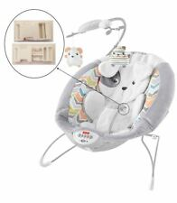 1 White Harness Seat Clip for Fisher Price Deluxe Bouncer Infant Baby Swings NEW
