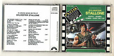 Cd SYLVESTER STALLONE Rocky Rambo Cobra Over the top OST No barcode 1987