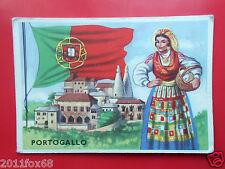 figurines cromos cards figurine sidam gli stati del mondo 33 portogallo flags gq