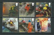 GREAT BRITAIN 2009 FIRE AND RESCUE SERVICES UNMOUNTED MINT, MNH