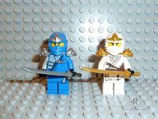 LEGO ® NINJAGO PERSONAGGI Zane ZX e Jay ZX NINJA da Set 9449 M. armi r965 NUOVO