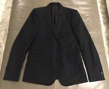 NWOT The Kooples France 100% Wool Midnight Blue Black Tuxedo Jacket 46 36 $995
