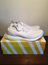 192bbba78 Adidas Parley Uncaged Ultra Boost Size 9 BB4073 White Grey Light Blue 1.0  2.0