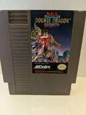 DOUBLE DRAGON II NES NINTENDO  GOOD