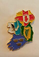 Ireland Four Provinces Pin Badge Irish Ulster Celtic Republican Federal