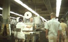 1964 L & M Lark Cigarette Factory Workers Richmond VA Original Afga 35mm Slide 1