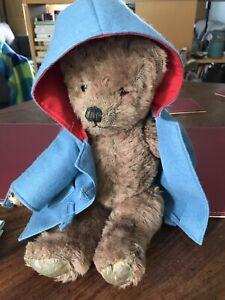 antique farnell teddy bear Brown Alpaca