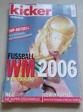 KICKER SONDERHEFT FUSSBALL WM 2006 Weltmeisterschaft FIFA World Cup 2006 Germany