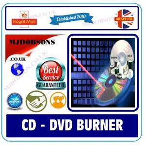 Burning CD-D  Full Version Suite  Burn  Backup Edit Create DVD