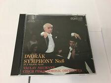 DVORAK SYMPHONY NO 6 DENON SUPRAPHON CD 38C37-7242