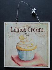 shabby chic plaque cupcakes kitchen cake picture