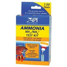 API Ammonia Test Kit For Fish Tank Aquarium NH3 Tropical Coldwater Fish