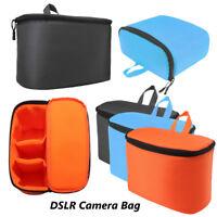 Waterproof DSLR SLR Camera Bag Liner Insert Padded Inner Folding Divider Case ❤
