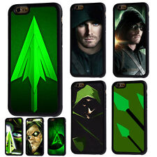 Green Arrow Justice League Rubber Phone Case For iPhone 5 6/6s 7 8 X Plus Cover