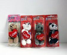 Pez Valentine Cuddle Cubs 4 Pc Set