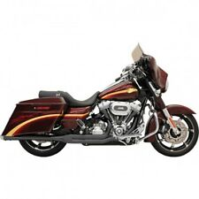 Exhaust road rage 2-into-1 black - Bassani xhaust FLH-737B