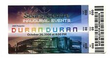 Vintage Concert Ticket DURAN DURAN 2006 Inaugural Events Sears Centre promo?