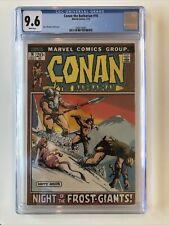 Conan The Barbarian CGC 9.6 Barry Windsor-Smith 1972 🔥🔥🔥