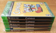 Cuphead Bonus Cel Art Complete Set of 5-NO GAME INCLUDED-Cell Xbox One-Mint!