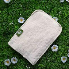 Gant de toilette/lingette lavable Coton bio