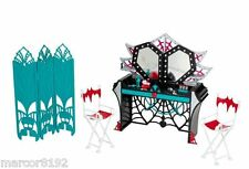 Monster High Frights Camera Action Dressing Room Playset  New in Box