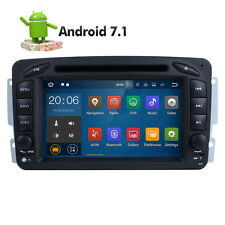 "7"" Android 7.1 Car CD DVD GPS Stereo Radio for Mercedes Benz C/GClass W203 W463"