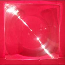 "Large RIGID Acrylic Fresnel Lens SOLAR Magnifier Oven cooker 12""x12"" 310x310mm"
