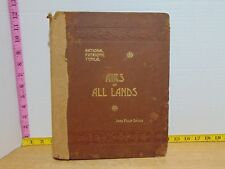 National Patriotic And Typical Airs Of All Lands by John Philip Sousa 1890 Music