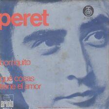 """PERET BORRIQUITO / QUE COSAS TIENE EL AMOR UNIQUE 1974 RECORD YUGOSLAVIA 7"""" PS"""