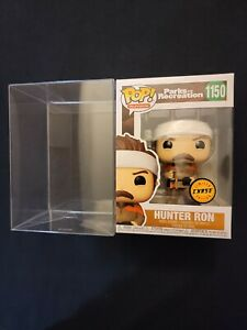 HUNTER RON SWANSON CHASE FUNKO PARKS AND RECREATION #1150 + PROTECTOR