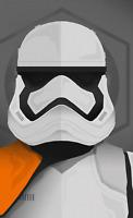 Stormtrooper Art Poster Print 8x10 Inch Hologram Star Wars Empire Strikes Back