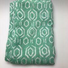 Threshold Sheer Diamond Curtain One Panel 84L NWOT Mint Aqua Green
