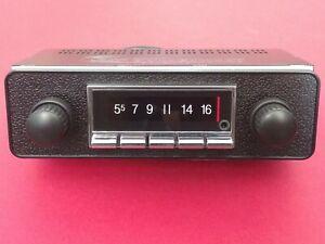 NEW VW Karmann Ghia Type 3 AM FM AUX USB Bluetooth Stereo Radio 300 watts iPod