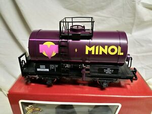 LGB g scale Minol wagon 41405