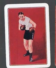 "Playing Swap Cards 1 VINT WIDE GENUINE ""THE BOXER"" EDWARDIAN  GENT BOXING  EW174"