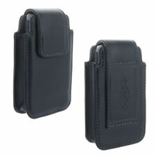Echt Leder Gürtel Handy Tasche für Nokia 150 Cover Schutzhülle Hülle Etui