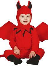 Costumi e travestimenti rosso per carnevale e teatro per neonati da 0 a 2 anni