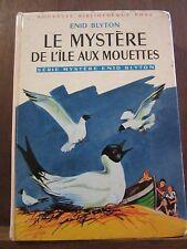 Enid Blyton:Le mystère de l'île aux mouettes/ Bibliothèque Rose
