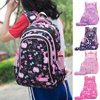 3Pcs/Set Girl School Shoulder Backpack Teenage Bookbag Women Canvas Travel Bag