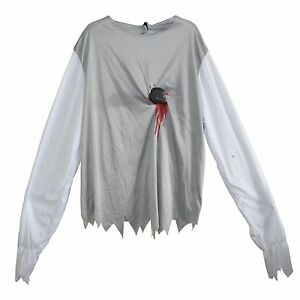 Incharacter zombie shredded costume shirt (large and extra large)