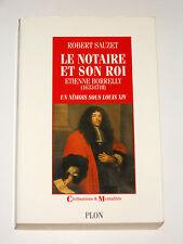 Etienne BORRELLY 1633-1718 Bezouce Gard Notaire nîmois sous Louis XIV
