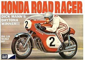 MPC 856 Mann's Honda Road Racer 1/8 New Motorcycle Plastic Model Kit