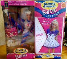 1995 MATTEL Olympic Gymnast BARBIE Doll #15123 Blonde NIB