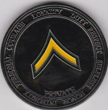 US Army Private Challenge Coin