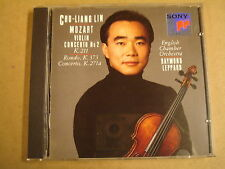 CD SONY CLASSICAL / MOZART - VIOLIN CONCERTO No 2 / RAYMOND LEPPARD