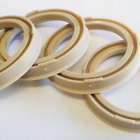 56.6 to 73.1 Spigot Rings Full Set of 4 Vauxhall Opel Astra Corsa Vectra Calibra