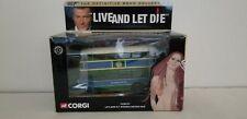 "Corgi Cc06101 Leyland R.T. Double Decker Bus - 007 ""Live and Let Die"" Nib!"